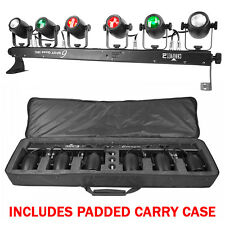 Chauvet 6SPOT Quad IRC 6 x Pin Spot Bar Red Green Blue White 2Yr Warranty + Bag