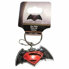 Batman v Superman Dawn of Justice New Enamel Logo Keychain Key Chain DC Comics