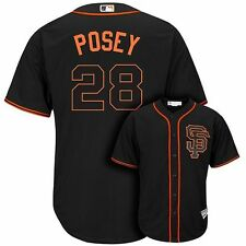 Buster Posey San Francisco Giants Toddler 3T Black MLB Majestic Cool Base Jersey