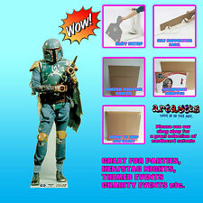 Boba Fett from Star Wars Bounty Hunter LIFESIZE CARDBOARD CUTOUT