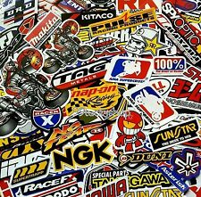 130 Mixed Random Stickers Motocross Motorcycle Car ATV Racing Bike Helmet Decal