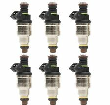 Set (6) 42lbs Top Racing EV1 Fuel Injectors 440CC Replaces 0280150558 42lb /hr