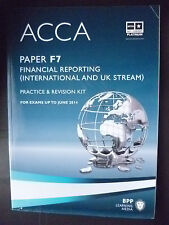 ACCA F7 FR, BPP Revision Kit up to June 2014 (9781445366470)