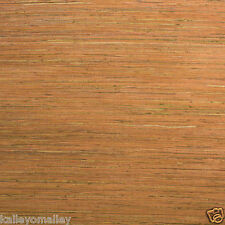 """Walls Republic Raw Grasscloth 18' x 36"""" Stripes Wallpaper"""
