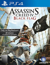 Assassin's Creed IV: Black Flag (Sony PlayStation 4, 2013)
