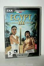 EGYPT III IL DESTINO DI RAMSES GIOCO NUOVO PC CD EDIZIONE ITALIANA PAL EXA 37361