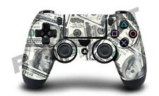 Playstation 4 (PS4) Controller Cover / Skin / Wrap - 100 Dollar Bill Design