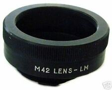 *NEW* ADAPTER Pentax M42 lenses to Leica M mount camera