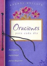 Oraciones para cada da Spiritual Refreshment for Women Spanish Edition