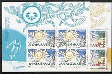 CEPT, Europa Rumänien 2004, Mi 5822/5823 im Kleinbogen, gestempelt, KW 28,00€