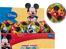 DISNEY CHARACTER MICKEY MOUSE CLUBHOUSE SOFT SOCCER MINI BALL FOR KIDS TODDLERS