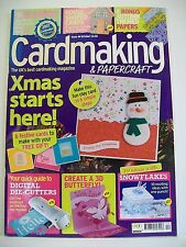 Magazine. Card Making & Papercraft. Issue 44. October 2007. Xmas Starts Here!