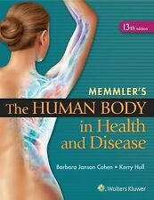 MEMMLER'S THE HUMAN BODY IN HEALTH AND DISEASE [ - BARBARA COHEN (PAPERBACK) NEW