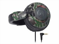 Audio-technica portable Headphones ATH-BB500 Camouflage (Backing band style) New