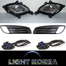 Fog Light Lamp, Cover, Wire 6EA 1SET OEM For Hyundai Genesis Coupe 2010-2012