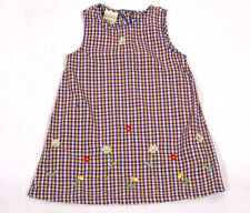 LAURA ASHLEY MOTHER & CHILD  6 YEARS OLD GIRLS SUMMER DRESS CHECKED FLORAL