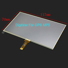 5'' Inch 117x70mm For GPS MP5 Resistive Touch screen Digitizer Glass Panel