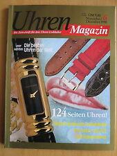 Uhren-Magazin Nr. 6 1990 im Heft: Rolex Datejust, Seiko, Citizen, IWC, Kaufmann