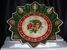 VILLEROY & BOCH Toys Fantasy Print 1748 series Holiday Collectible Bowl NEW