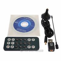 Mini Digital TV Stick DVB-T 02 Digital USB TV CARD TUNER for Freeview Laptop PC