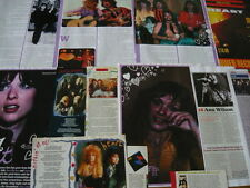 HEART - MAGAZINE CUTTINGS COLLECTION (REF T1)