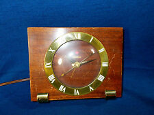 VINTAGE TELECHRON ELECTRIC ALARM CLOCK MODEL 7H14 WORKS WELL!