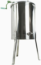 New Four 4/8 Frame Stainless Steel Honey Extractor 304 SS VIVO Model BEE-V004