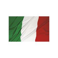 ★BANDIERA DELL'ITALIA CON ASOLA PER ASTA TRICOLORE ITALIANA PICCOLA 60 X 90★