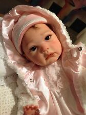 "Pretty Reborn Baby Annalisa Maribel Villanova Full Limbs Toddler 24"" About 6lbs"