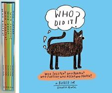 Who Did It?: Boxed set containing Who Sneezed? Who Burped? Who Farted? Who Peed?
