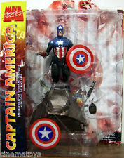 Capitan Capitan America Masked Marvel Select Action Figure DIAMOND TOYS Avengers