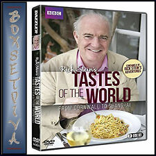 RICK STEINS TASTES OF THE WORLD - FROM CORNWALL TO SHANGHAI  *BRAND NEW DVD**