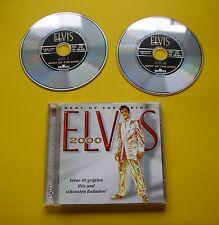 """2 CDs """" ELVIS PRESLEY -  BEST OF THE KING - ELVIS 2000  """" 40 GREATEST HITS"""