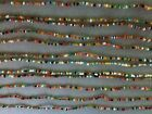 Indian Seed Bead Necklaces- Colorful Glass Beads