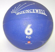 6 kg (13. 2 lb) rubber bouncing weighted medicine ball
