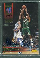 Gary Trent Basketball Auto 1995-96 Signature Rookies '95 Autograph Signed #11