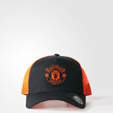 Manchester United Trucker Cap Man Utd Adults Men's Baseball Hat Official Adidas