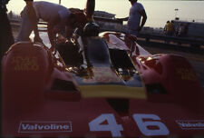1979 John Morton #46 Lola T333 - Can-Am Riverside - Vtg 35mm Race Negative