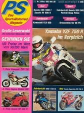 PS9303 + YAMAHA YZF 750 R vs. DUCATI 888 und andere + PS 3/1993