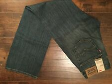 New Men's Levis 527 slim boot cut denim jeans 34 x 34