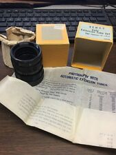 VEMAR EXTENSION TUBE SET FOR PRAKTICA IN  BOX  W/PAPER