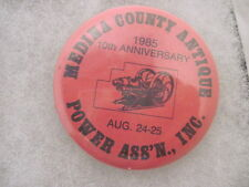 OLD VINTAGE 1985 POWER ASS'N TRACTOR PINS PINBACKS COLLECTIBLE