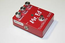 RARE Toadworks Mr Ed EVH Brown Sound Distortion Guitar FX Effects Pedal