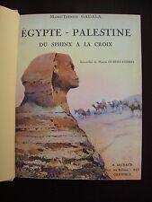 Egypte-Palestine - Du Sphinx à la croix