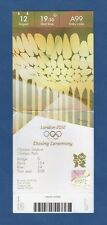 Orig.Ticket   Olympic Games LONDON 2012  -  CLOSING CEREMONY  !!  EXTREM RARE