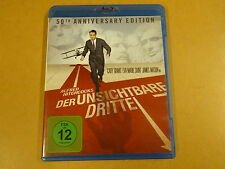 BLU-RAY / DER UNSICHTBARE DRITTE ( ALFRED HITCHCOCK, GARY GRANT... )