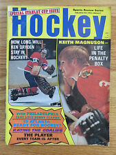 Hockey Stanley Cup Issue KEN DRYDEN KEITH MAGNUSON Magazine CANADIENS BLACKHAWKS