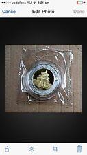 2004 china  coin exposition panda gilded & silver  coin