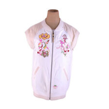 Auth Diesel Outer Flower Embroidery Women''s used N198