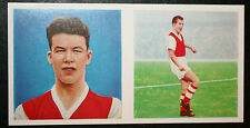 Arsenal  &   Wales  Charles  Vintage  Picture Card # VGC